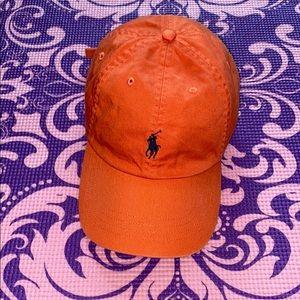 Men's Orange Polo Hat